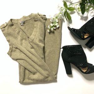 J. Jill sleeveless sweater dress